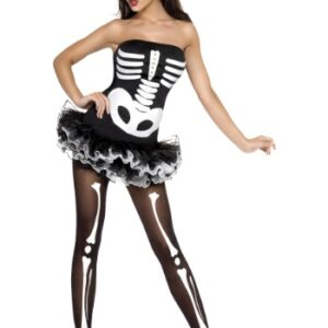 sexy skeleton costume