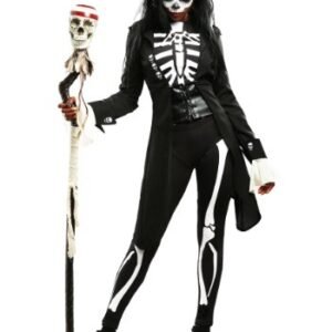 voodoo skeleton costume