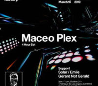 Factory 93 Hosts Tech House Artist, Maceo Plex