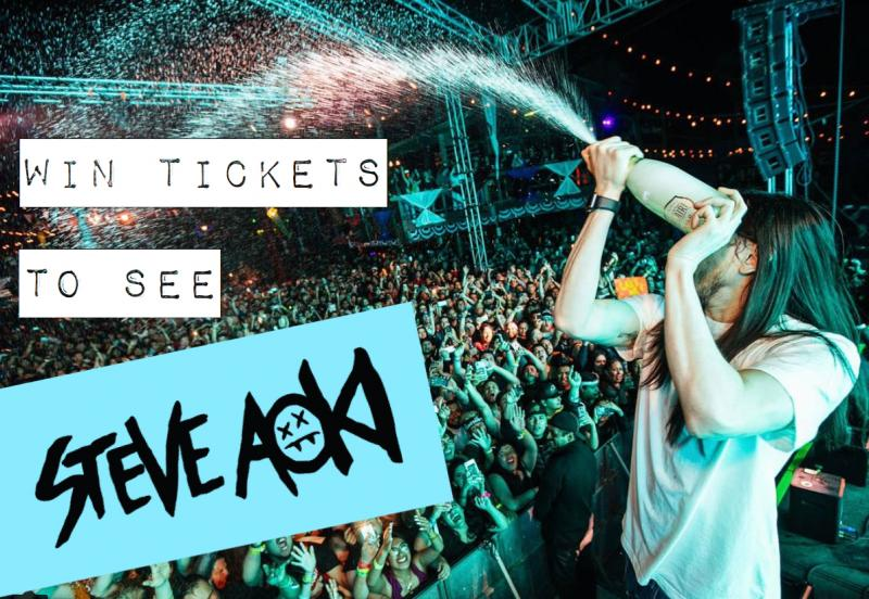 WIN Tickets to Steve Aoki in Tampa! - Women of Edm