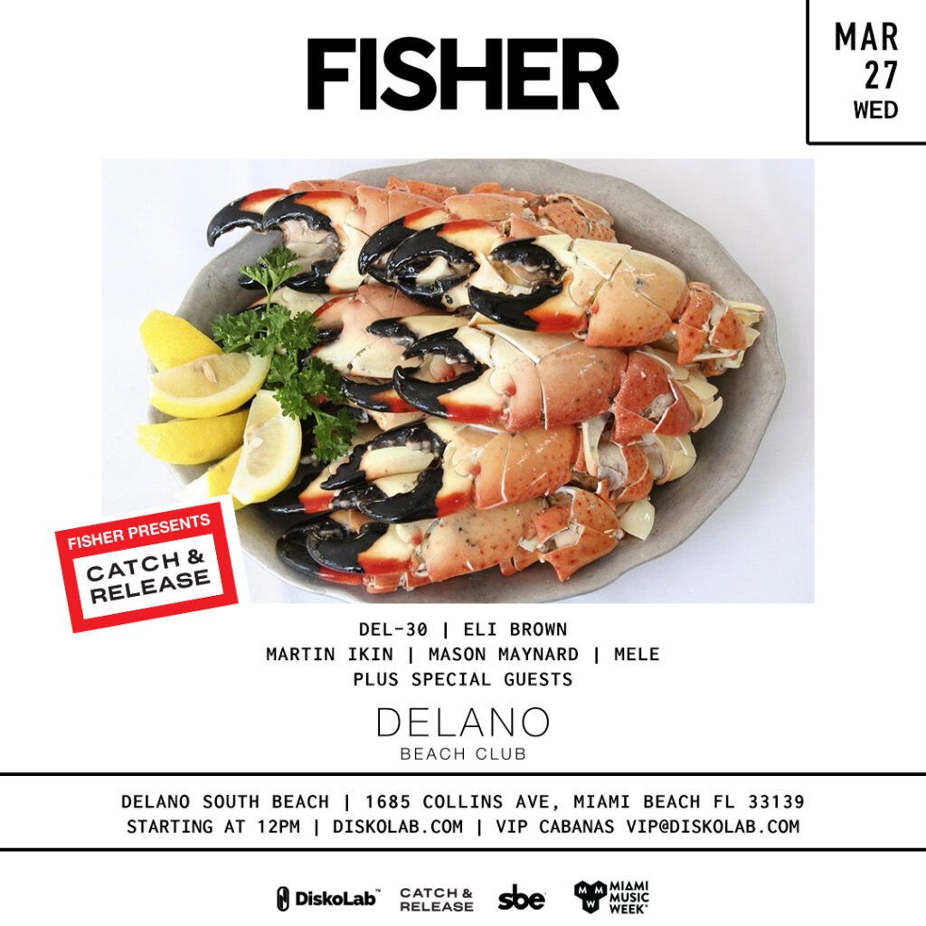 Fisher at The Delano Beach Club
