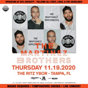 Martinez Brothers at The Ritz